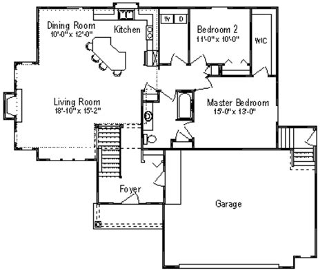 1300 sq ft apartment floor plan traditional style house plan 3 beds 1 baths 1300 sq ft