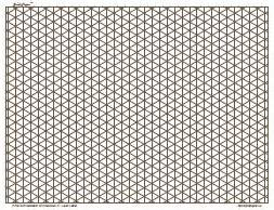 free printable a3 isometric paper free isometric graph paper 4 inch charcoal full page