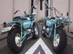 Honda Trail Scooter Blue Honda Motra Trail Bike Motorcycles Scooters
