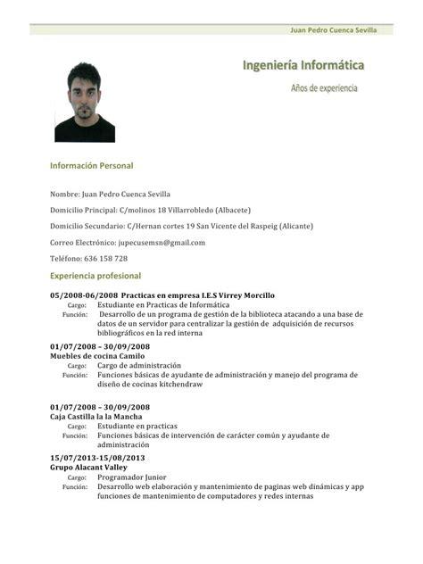 Modelo De Curriculum Vitae Basico Para Completar E Imprimir Modelo De Curriculum Vitae 2014 Para Descargar Curriculum Vitae Newhairstylesformen2014