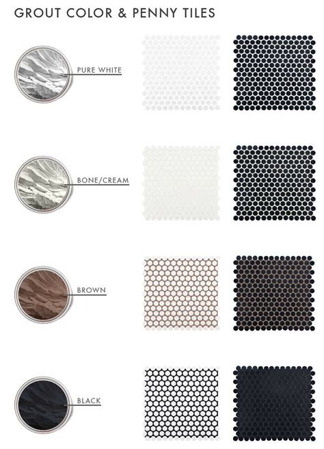 black and white make what color the difference grout color can make to your tiles emily