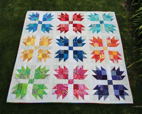 Paw Quilt by Wendy S Quilts And More Scrappy Paw Is Finished