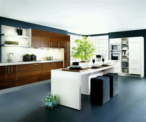 new home designs kitchen cabinets designs modern - Modern Kitchen Design Pictures