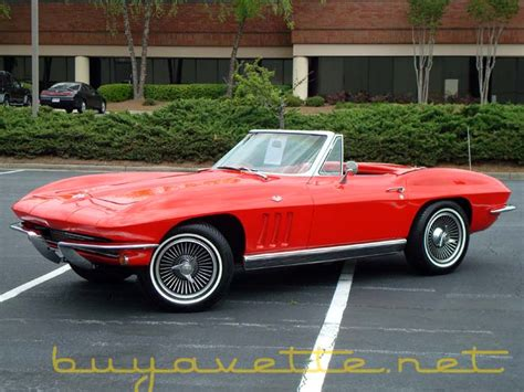 Fixer Uppers by 1966 Corvette Convertible For Sale At Buyavette 174 Atlanta