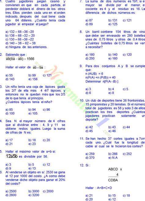 respuesta de matematicas 6 grado matem 193 ticas 30 problemas resueltos de sexto grado de