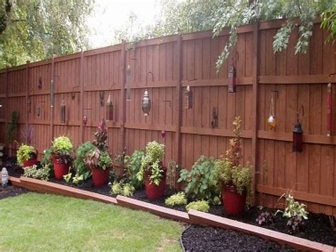 backyard privacy fence creative bedroom wall designs unique privacy fence ideas