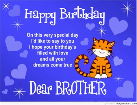 Happy Birthday Quote For Happy Birthday Brother Punjabidharti Com