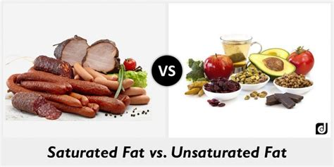 healthy fats saturated or unsaturated difference between saturated and unsaturated