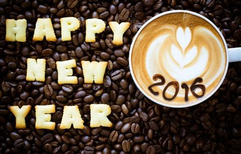new year cookies 2016 wallpaper happy beans coffee new year 2016 cookies