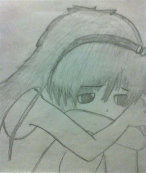 imagenes de tristeza para dibujar anime triste by selene vazquez on deviantart