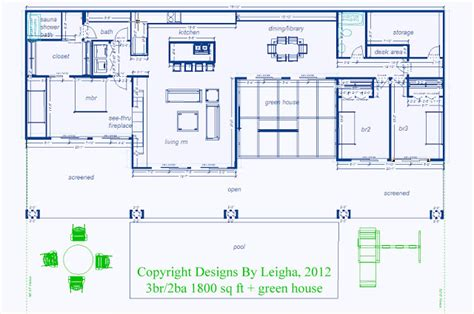 Underground Floor Plans by Underground House Plans