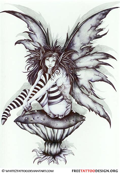 dark fairy tattoo designs and design