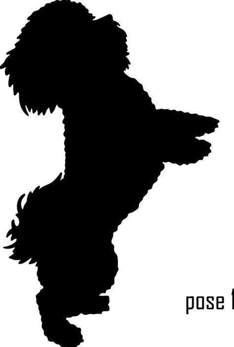 shih tzu silhouette rabbit silhouette cliparts co