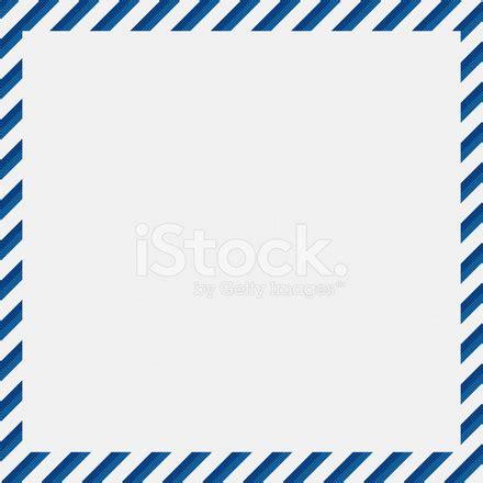 white textured paper with blue stripe border stock photos