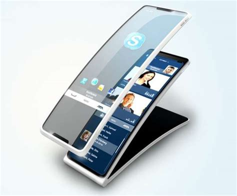 touchscreen landlines hello tomorrow concept phone