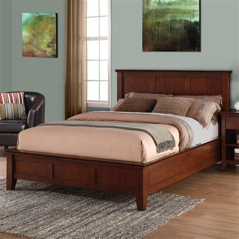 wayfair queen bed simpli home queen platform bed wayfair