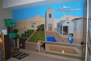 minecraft wall murals gallery for gt minecraft mural