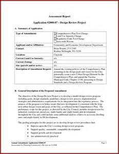 Sample Assessment Report Assessment Report Template Report Template For