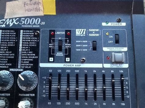 Power Mixer Yamaha Emx5000 price drop 500 ono yamaha emx 5000 20 channel powered