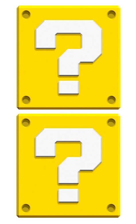 super mario question mark box printable image gallery mario box