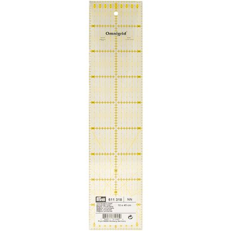 Omnigrid Quilting Rulers by Omnigrid Metric Quilter S Ruler 10cm X45cm At Joann