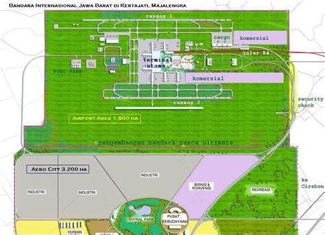 layout bandara kertajati my project kertajati bandara majalengka sekelas sukarno hatta