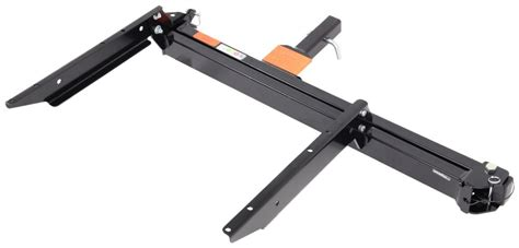 rola swinging enclosed cargo carrier rola swinging enclosed cargo carrier for 2 trailer hitch