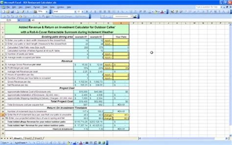 simple roi template excel inventory worksheet abitlikethis