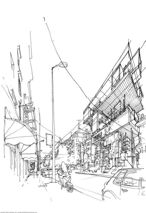 learn architectural sketching learn the difference between the free drawing and