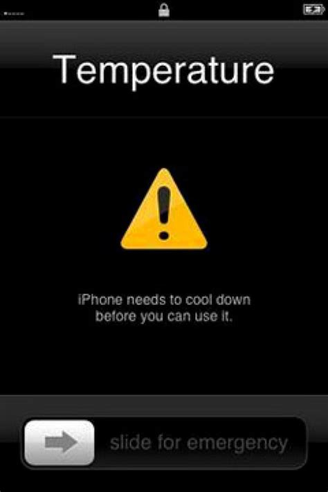 apple reveals temperature warning screen to prevent overheating of iphone 3g and 3gs ny daily news