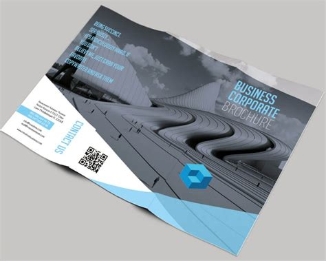 40 free professional tri fold brochures for business