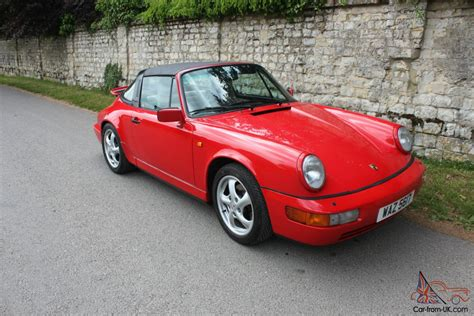 1990 porsche 911 red 1990 porsche 911 carrera 2 targa a red