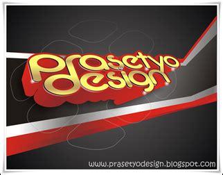 tutorial corel draw x4 3d text cara membuat efek 3d prasetyo design di coreldraw