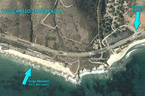 friendly beaches malibu map showing friendly area at leo carillo state yelp