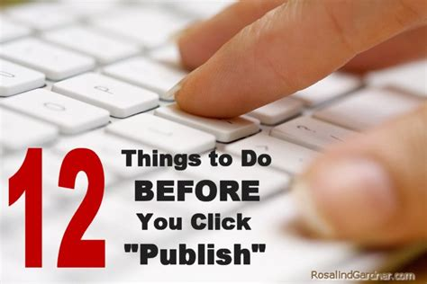 12 Things You Should Do Before You Hit 25 by Blogging Tips 12 Things To Do Before You Hit Publish