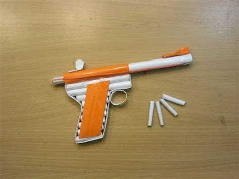 Paper Guns - how to make paper guns step by step with pictures www