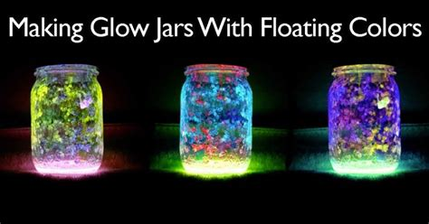 glow in the paint jar glitter 17 best ideas about glow jars on glow