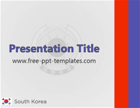 powerpoint templates korea south korea ppt template free powerpoint templates