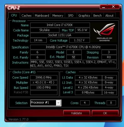 i7 6700k show always 4.2ghz when using xmp profile for ram