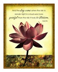 When Did Lotus Flower Bomb Come Out Lotus Flower Print With Inspirational Quote Free Shipping