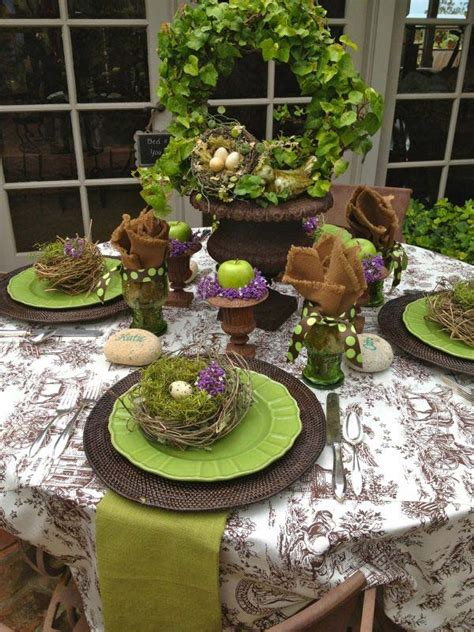 spring tablescape easter tablescapes