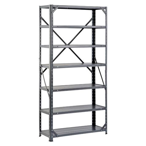 cheap metal storage shelf unit find metal storage shelf