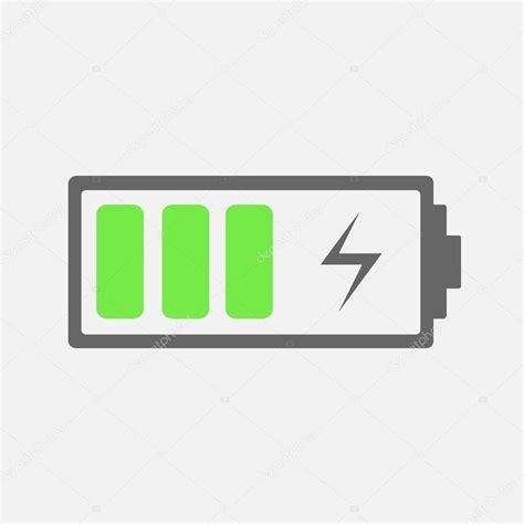 battery charging icon stock vector  chekman