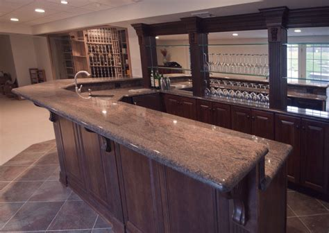 Built In Kitchen Designs by Custom Nj Home Bar Trade Mark Design Amp Build