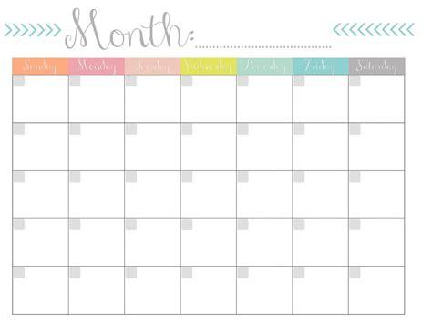 printable monthly calendars skakun media