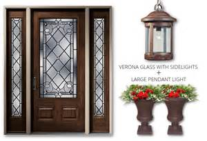 Curb Appeal Pairing Exterior Doors With Lighting And