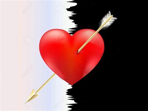heart  arrow wallpaperscom