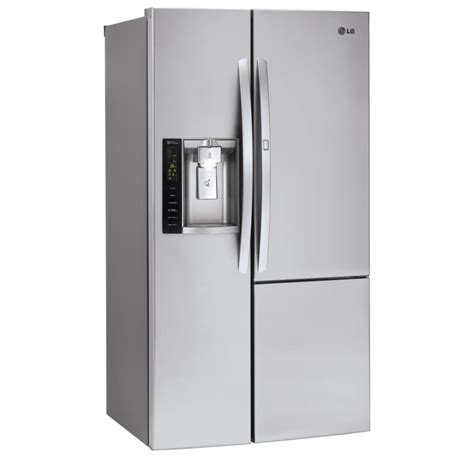 lg stainless steel side  side refrigerator lsxss