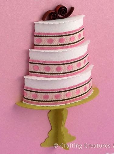 3D Cake Collection (Paper Die Cutting Files)   Meylah