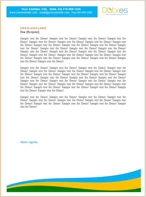 Business Letter Paper doc 700434 business letter heading template free